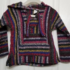 Toddler Mexican hoodie sweater